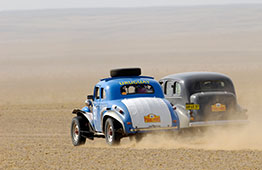 Racing the Gobi desert